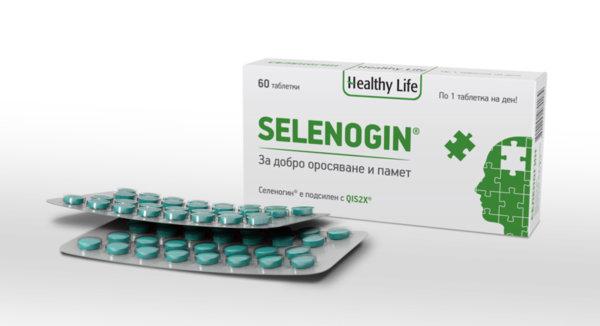 Селеногин (Selenogin) таблетки x60